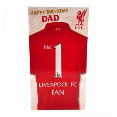 Картичка LIVERPOOL Birthday Card 500736a z01carlvda